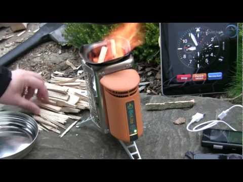 Biolite Campstove Test II (Deutsch)