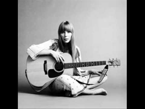 "The song ""A Case of You"" by Joni Mitchell, accompanied by a slideshow."