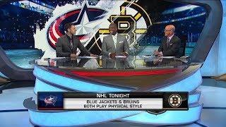 NHL Tonight: Bruins-Blue Jackets: The crew previews the Blue Jackets vs Bruins matchup  Apr 24,  201