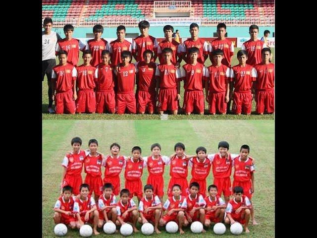 U19 Việt Nam đi bóng kỹ thuật - thời ấy