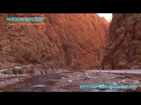Todra Gorge - Berber shepherds, rugged cliffs and rock climbing