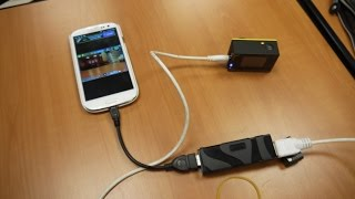 USB UVC HDMI capture card work on Samsung S3