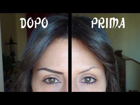 EYEBROWS – SOPRACCIGLIA PERFETTE 3 – Tutorial MATITA -Video HD