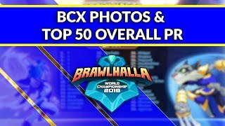 BCX Photos and the Top 50 Overall Power Ranked Players! - Brawlhalla Dev Stream Montage