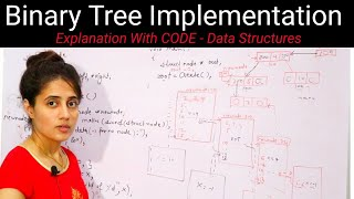 5.3 Binary Tree Implementation | Data Structures