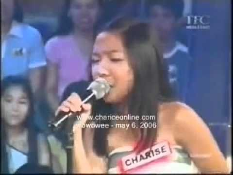 Charice on May 6 2006 Wowowee singing Burn by Tina Arena