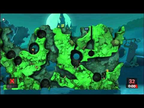Dread, Волоша, Nexus, Друг - Worms Revolution [02 янв 2015] игра 6