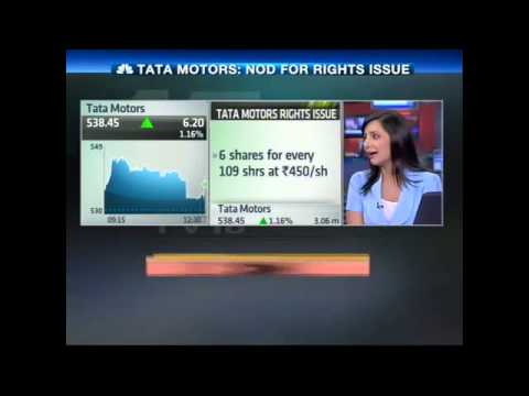 HALFTIME REPORT: TATA MOTORS: NOD FOR RIGHTS ISSUE - Mar 25