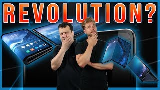 Faltbare Smartphones: Revolution oder bloß Hype? Unsere Meinung zu Galaxy Fold, Mate X & Co