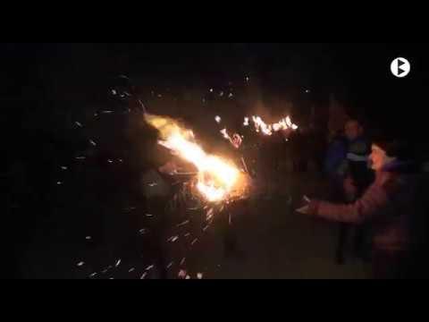 BN 27 12 2017 Cerdanyola crema les faies més reivindicatives