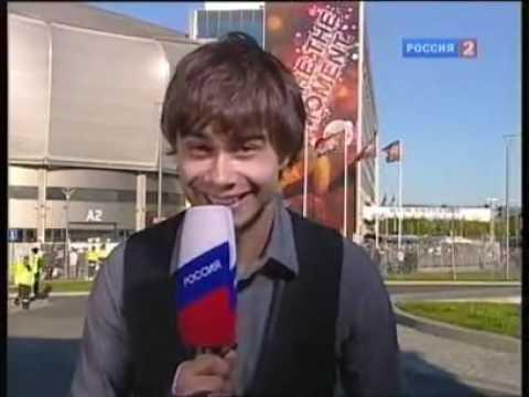 Alexander Rybak - interview for Russian channel, 27.05.10  :)