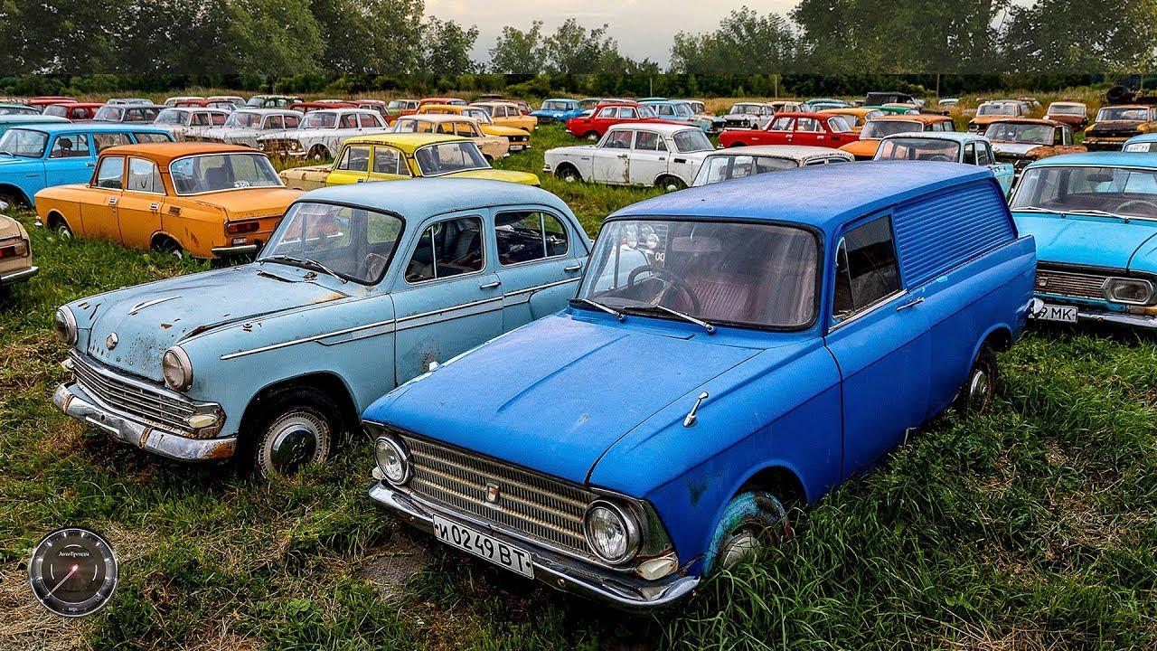 Кладбище редких советских авто-легенд ... или музей?