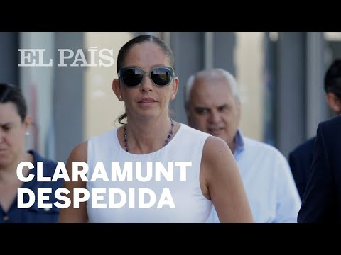 Despedida María José Claramunt, 'La Jefa' de la selección española