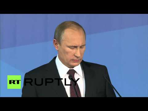 "Russia: ""U.S. double standards major obstable in War on Terror,"" blasts Putin"