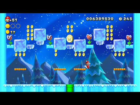 New Super Mario Bros. Wii U Walkthrough - Part 39 Star Road Adventures Let's Play WiiU Gameplay