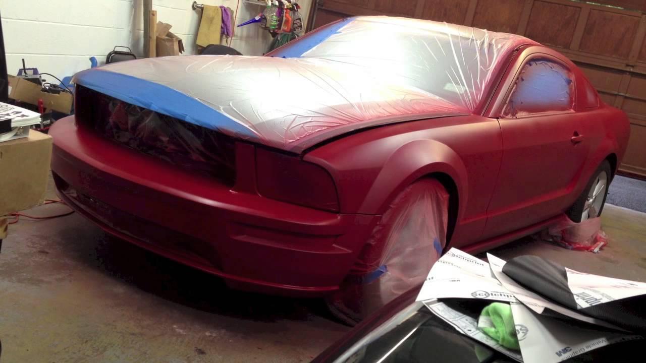 Matte Red Car Spray Paint