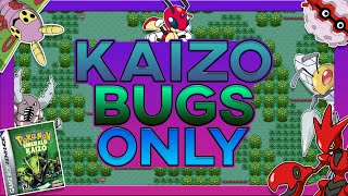Can You Beat Pokemon Emerald Kaizo With Only Bug Pokemon ?! (HARDEST ROM HACK, no items)