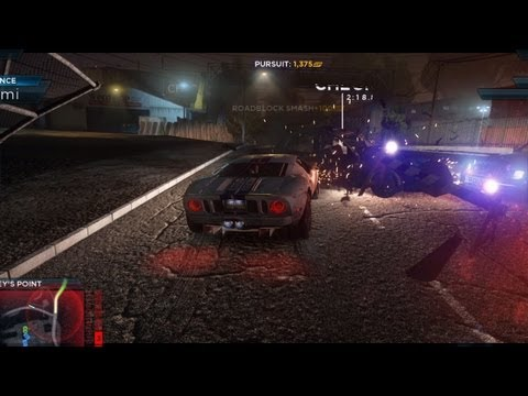 Need for Speed: Most Wanted Wii U Gameplay Capture