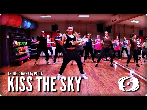 KISS THE SKY - Salsation® Choreography by Paola