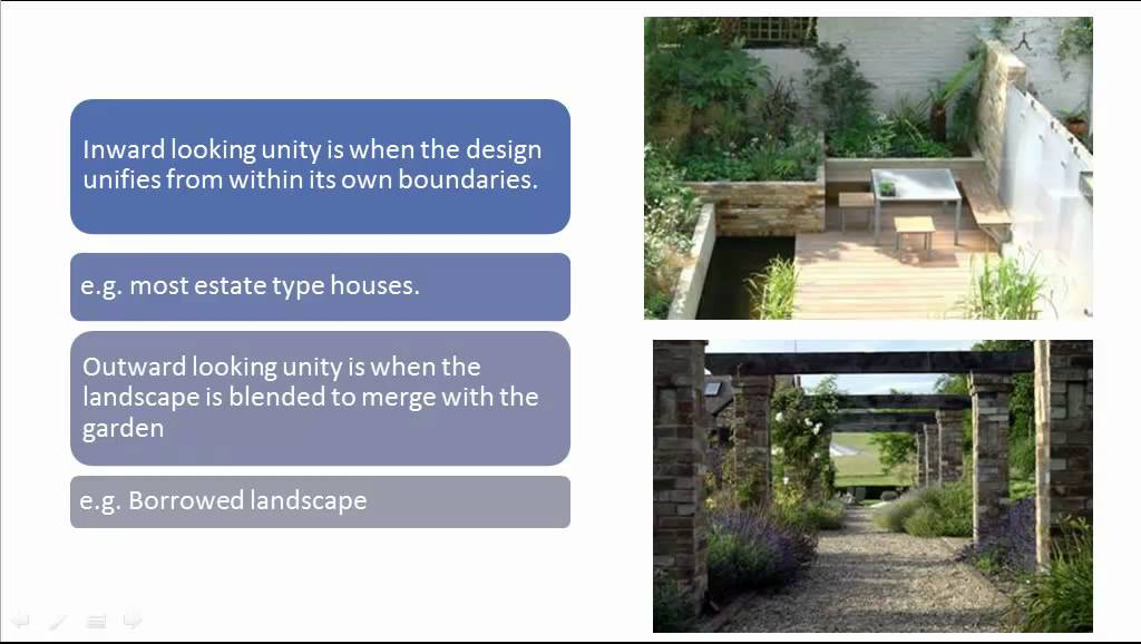 Landscape garden design principles youtube for Garden design principles