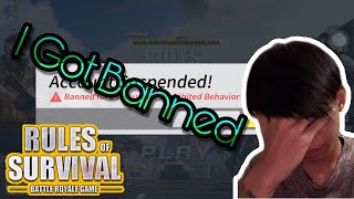 I Got Banned For Being Too Good From Rules Of Survival/PrivatePlork