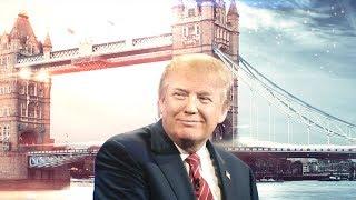 Huge protests greet Trump's visit to Britain