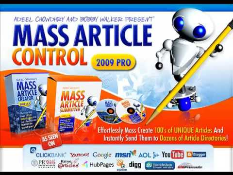 0 MASS ARTICLE CONTROL  review /Mass Article Control Review   Article Marketing On Steroids