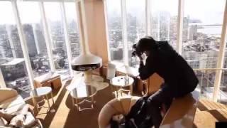 Karin + Raoul - Standard Hotel New York - WWW.CREATIVECONTROL.TV