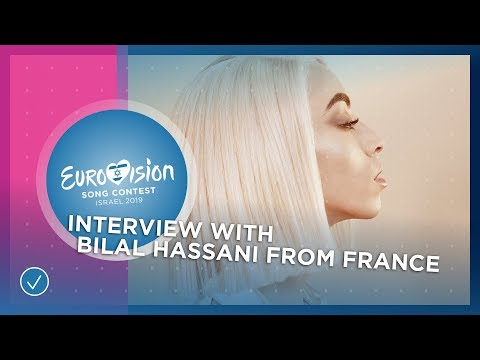 Bilal Hassani reveals name of his Eurovision wig! - France ???????? - Eurovision 2019