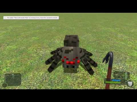 Gmod 13 Minecraft Mobs