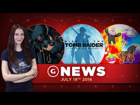 Rise of the Tomb Raider Coming To PS4 & New Pokemon Species Revealed! - GS Daily News