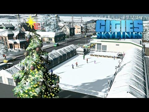 Cities Skylines - Первый снег! #2