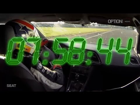 SEAT Leon Cupra Nürburgring Record Full Lap [HD] (Option Auto)