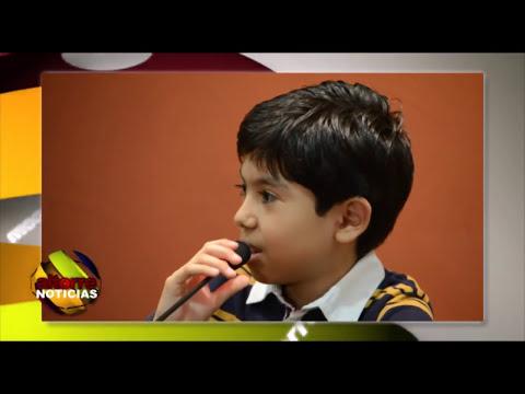 En Michoacán, Niño Prodigio provoca aplausos entre la Prensa