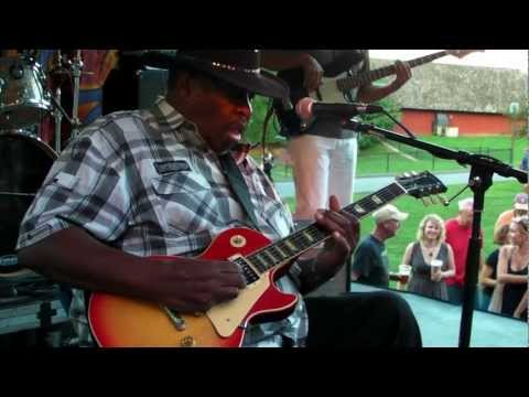 Magic Slim at Hot August Blues - Aug. 18, 2012