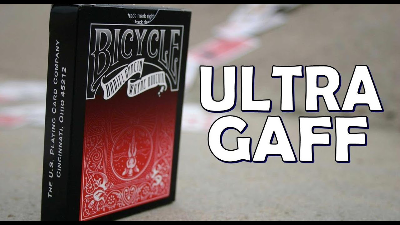 Gaff Deck Review Ultra Gaff Deck Ellusionist