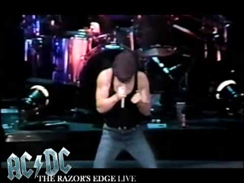AC/DC -The Razor's Edge LIVE! [AMAZING QUALITY!]