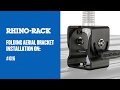 How To Install Folding Aerial Bracket | Rhino-Rack