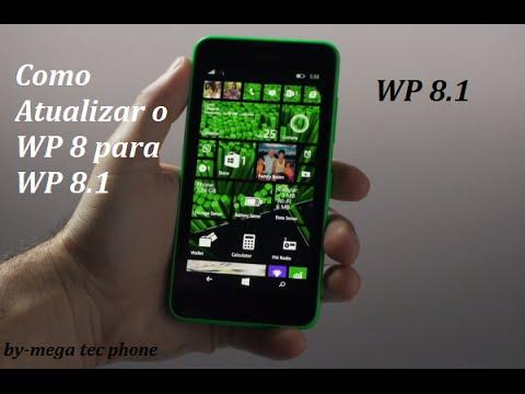 Como Atualizar WP 8 para o Windows Phone 8.1 (Preview for Developers)