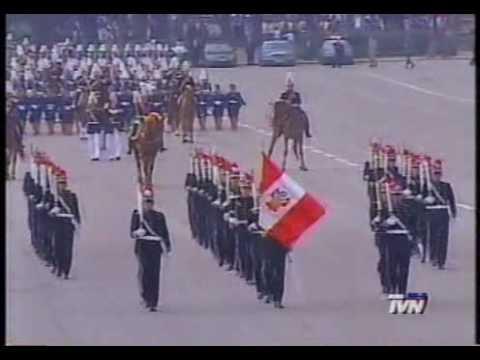 Gran Parada Militar 2001 (2) Delegaciones Extranjeras