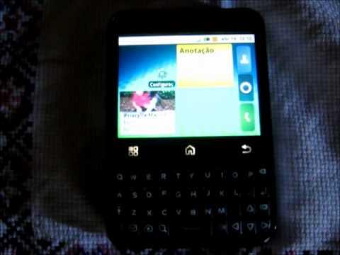 Celular MB 502 com defeito