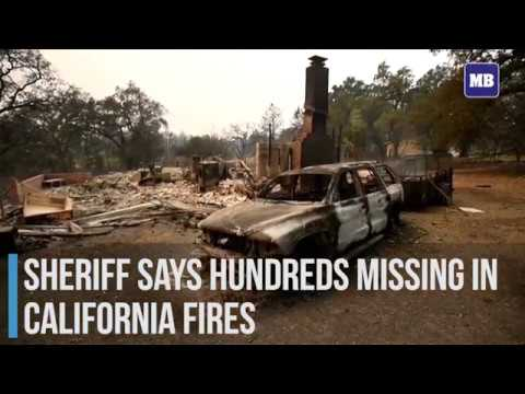 Sheriff says hundreds missing in California fires