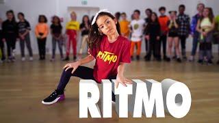 Download lagu RITMO - The Black Eyed Peas, J Balvin | Kids Street Dance | Sabrina Lonis Choreo