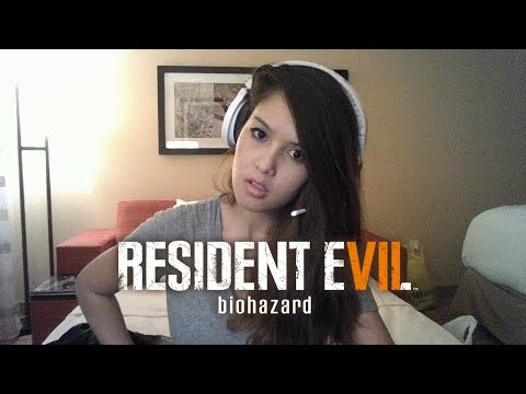 🔴 Streaming RE7 in a HAUNTED HOTEL *NO SCREAM CHALLENGE*