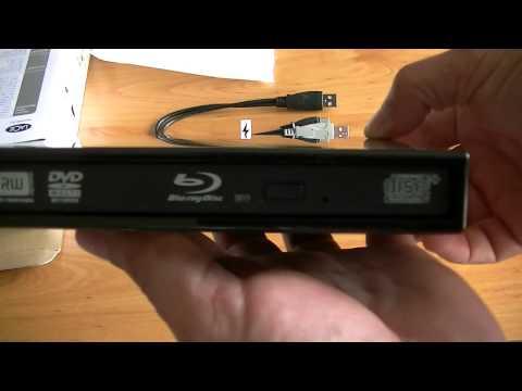 Leitor  e Gravador Externo  Blu-Ray   Lacie  Slim 6X BD-R