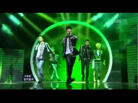 Bigbang 0429 sbs Inkigayo fantastic Baby video