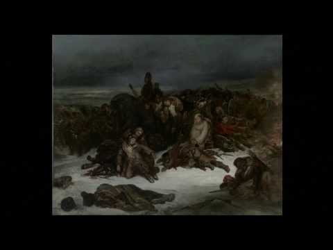Lecture 9, Find the Hero: Ary Scheffer's The Retreat of Napoleon's Army from Russia in 1812(1826)