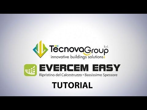 Tecnova Group Srl - EVERCEM EASY - COME SI APPLICA - TUTORIAL