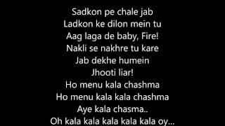 Kala Chashma Full Song With Lyrics
