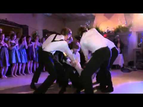 Brians Surprise Justin Bieber Wedding Dance for Emily.mp4